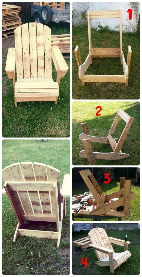 Cool Pallet Furniture Plans Step By Step