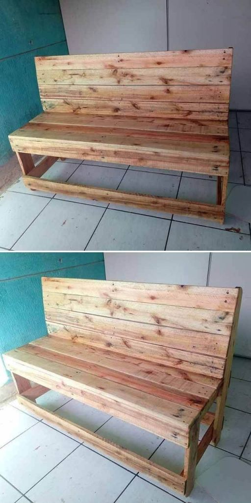 Top simple pallet furniture
