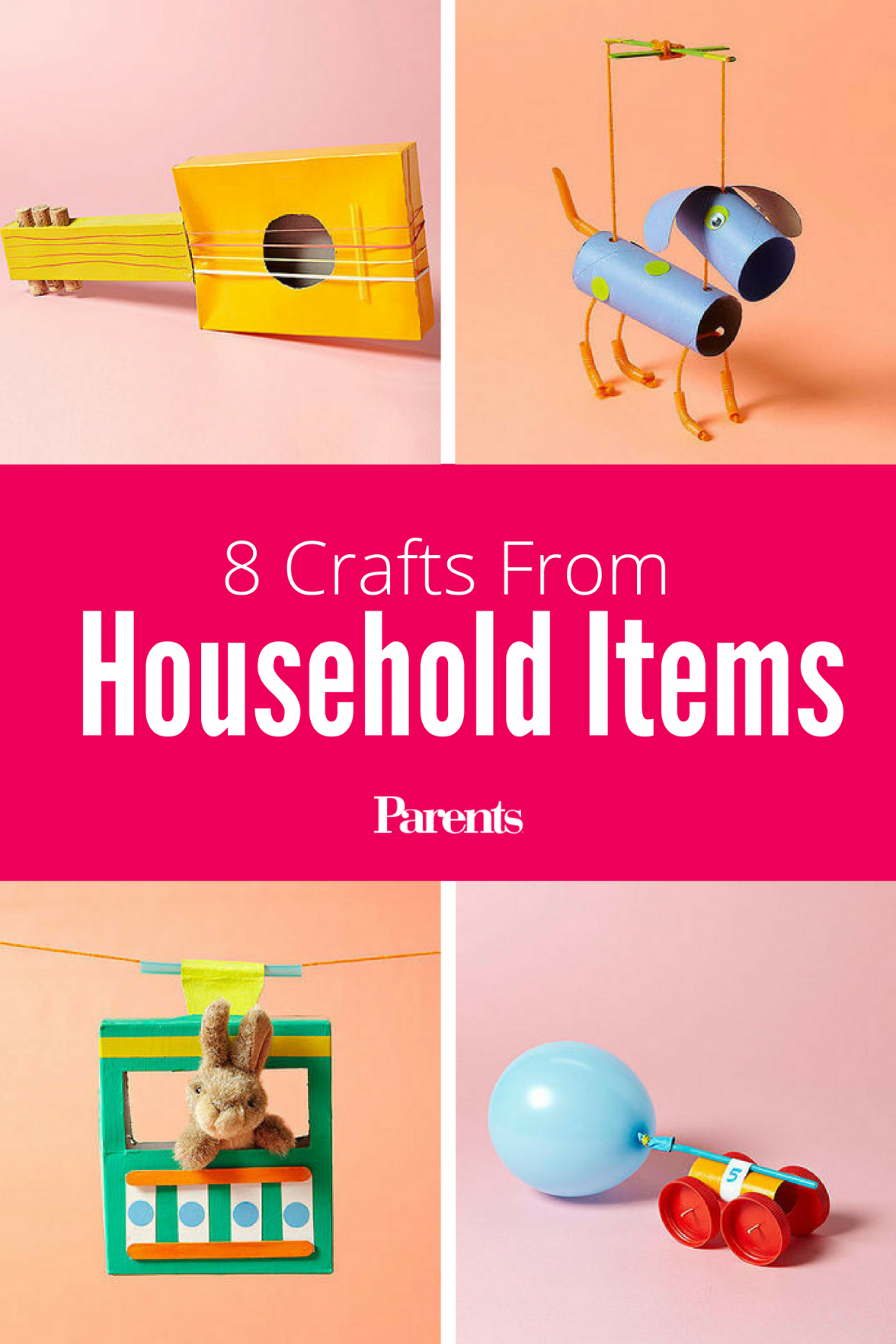 Amazing diy crafts with household items