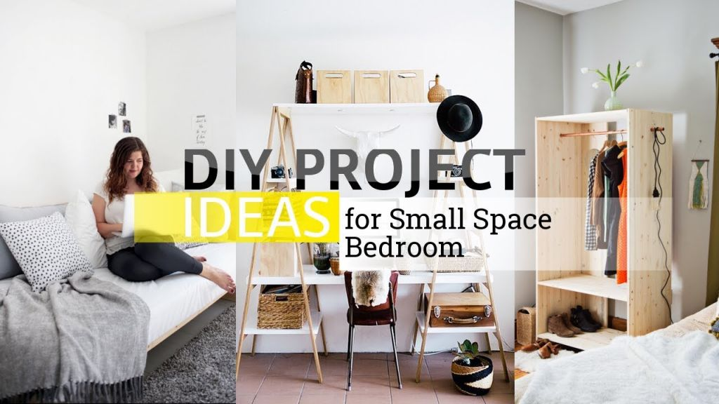Gorgeous diy furniture ideas for small spaces