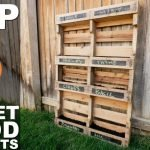 Fantastic Pallet Projects For Beginners