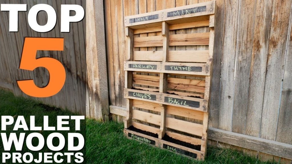 Awesome pallet projects for beginners