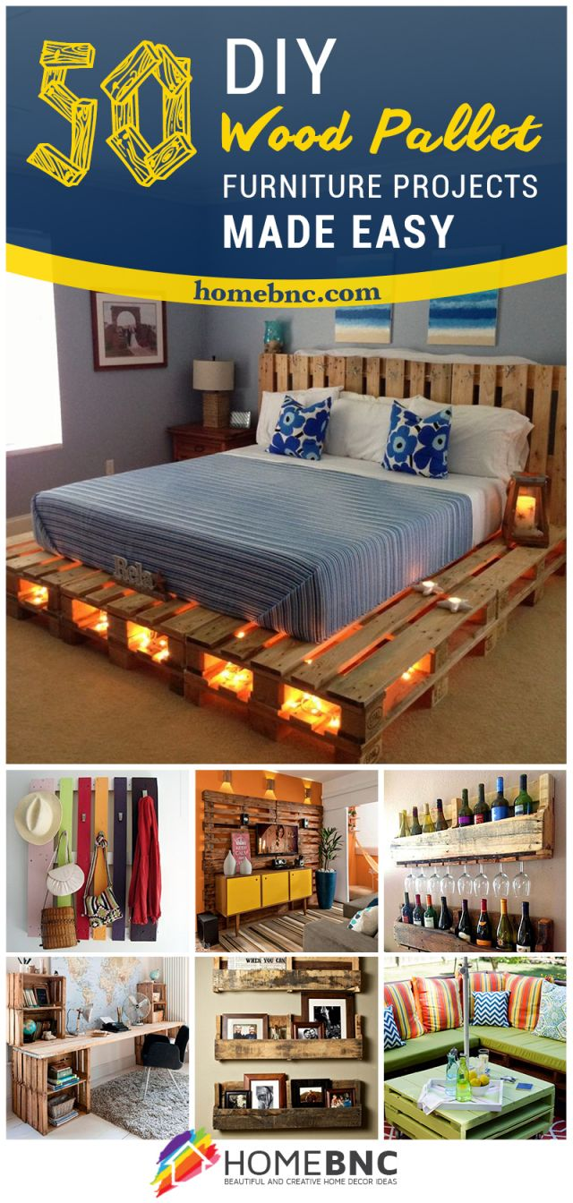 Adorable simple pallet furniture