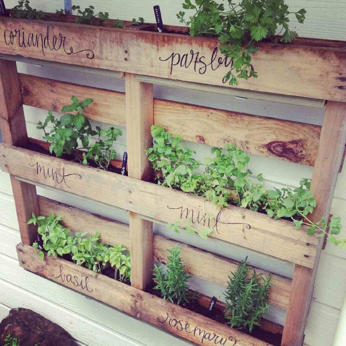Gorgeous things to do with pallets in the garden