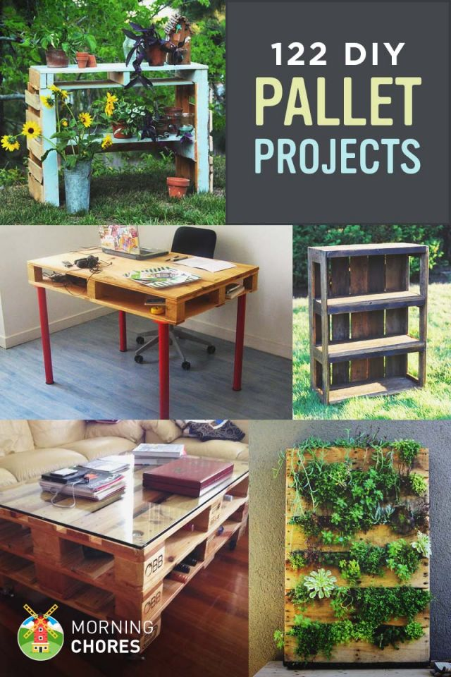 Cool things to make from wooden pallets