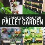 Fantastic Wooden Pallet Ideas For Garden