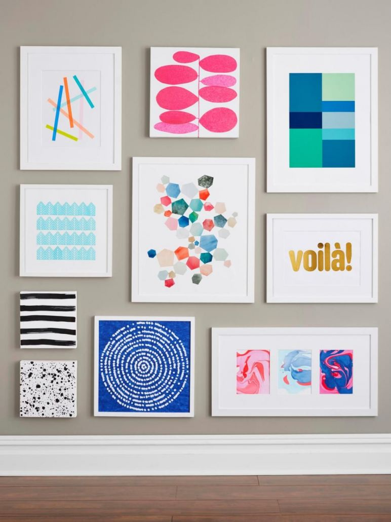Awesome easy diy wall art projects