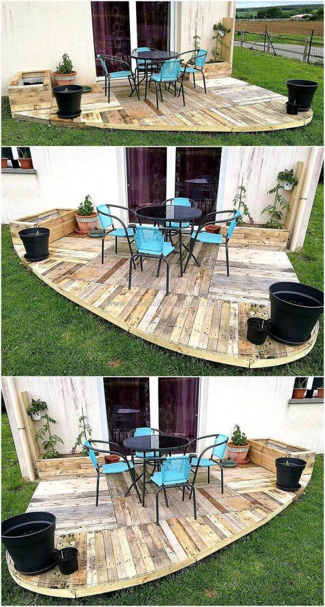 Awesome pallet ideas for outdoors