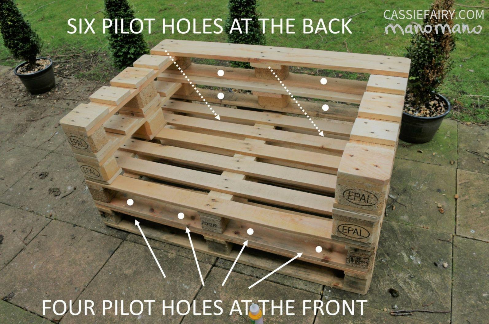 Nice simple pallet furniture