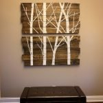 Gorgeous Wooden Pallet Wall Decoration