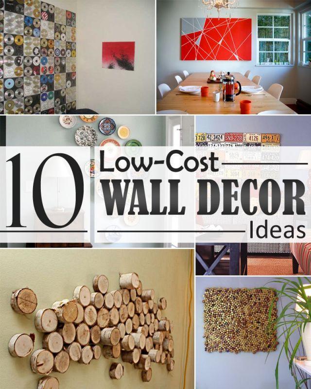 Awesome cheap diy home decor ideas