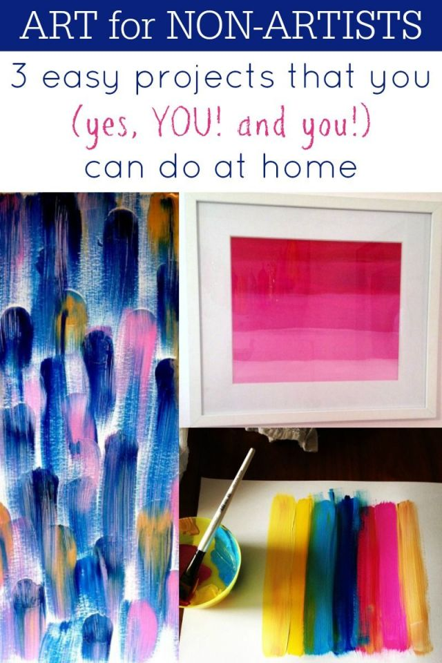 Adorable diy art projects to do at home