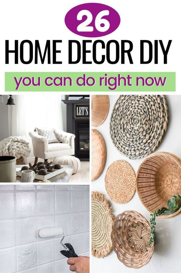 Gorgeous easy diy projects for home decor