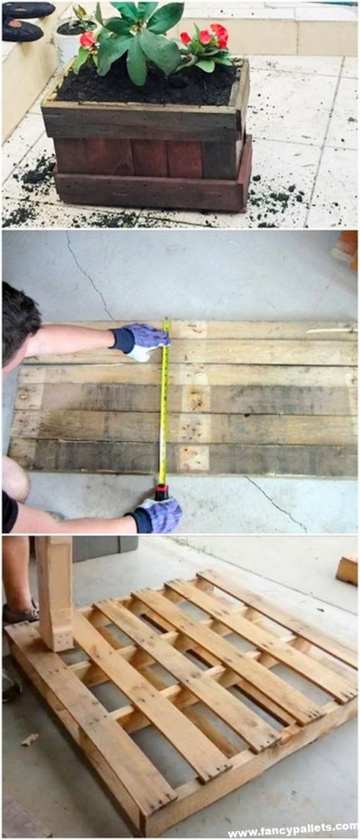 Amazing  pallet furniture plans step by step