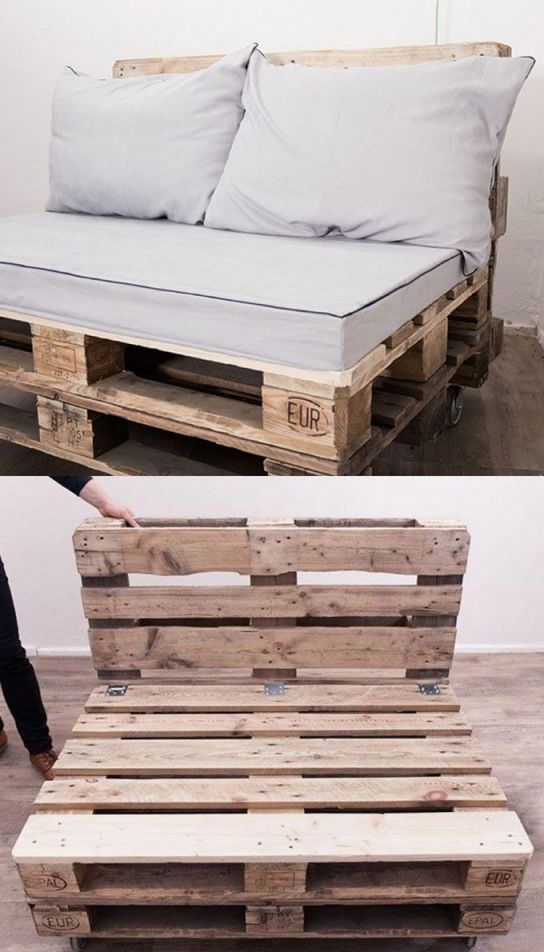 Wonderful simple pallet furniture