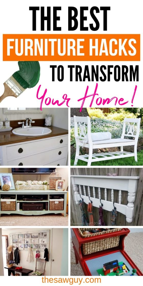 Awesome unique homemade furniture ideas