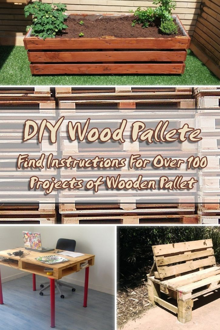 Gorgeous pallet furniture plans step by step