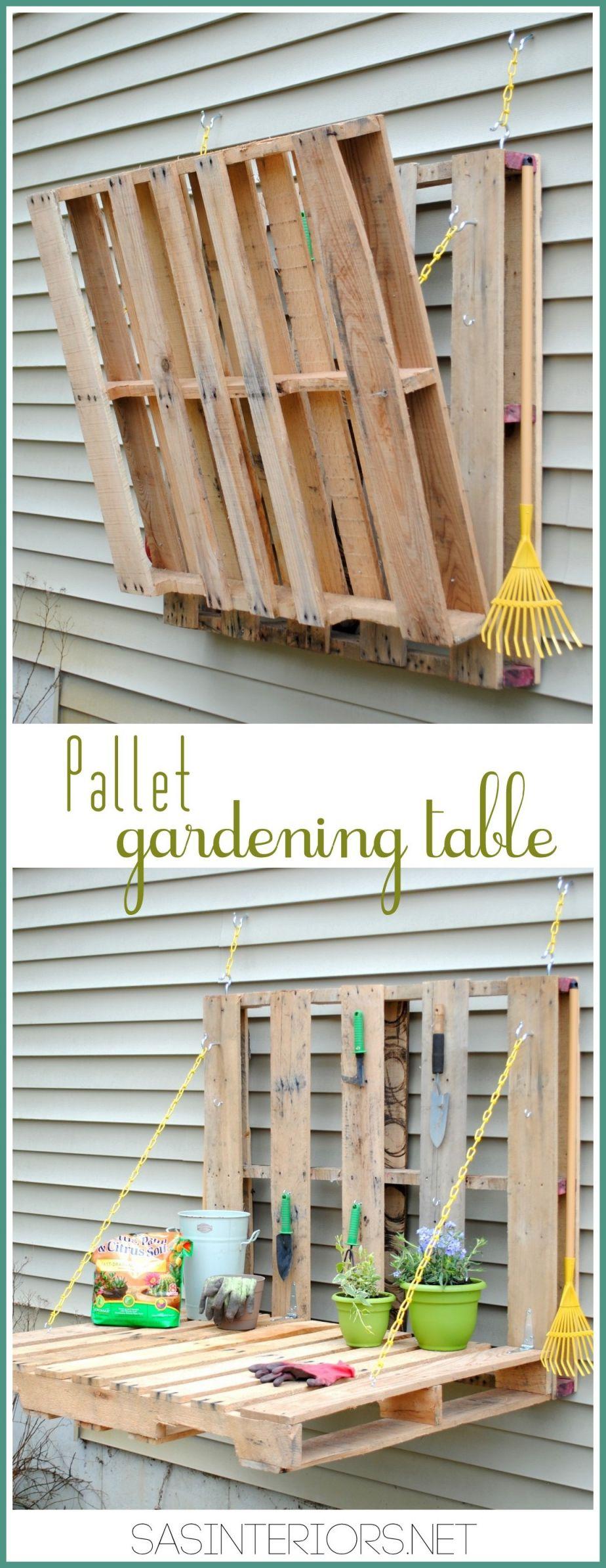 Wonderful pallet furniture plans step by step