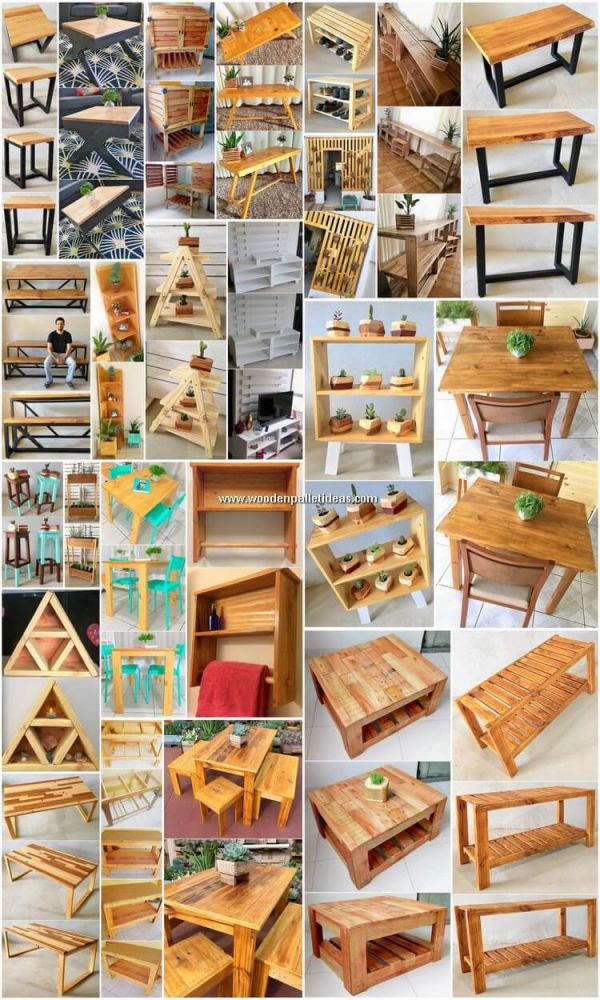 Gorgeous pallet projects for beginners