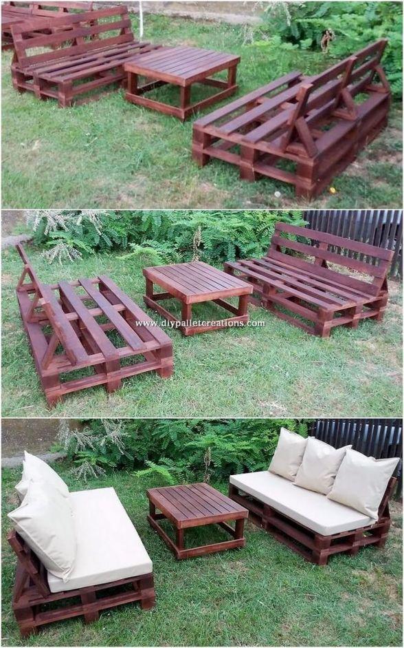 Top wooden pallet ideas for garden