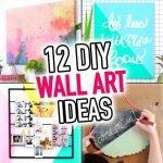 Wonderful Easy Diy Wall Art Projects