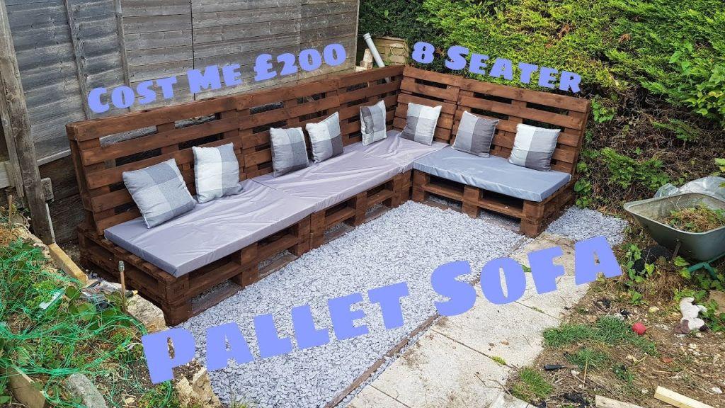 Fantastic simple pallet furniture