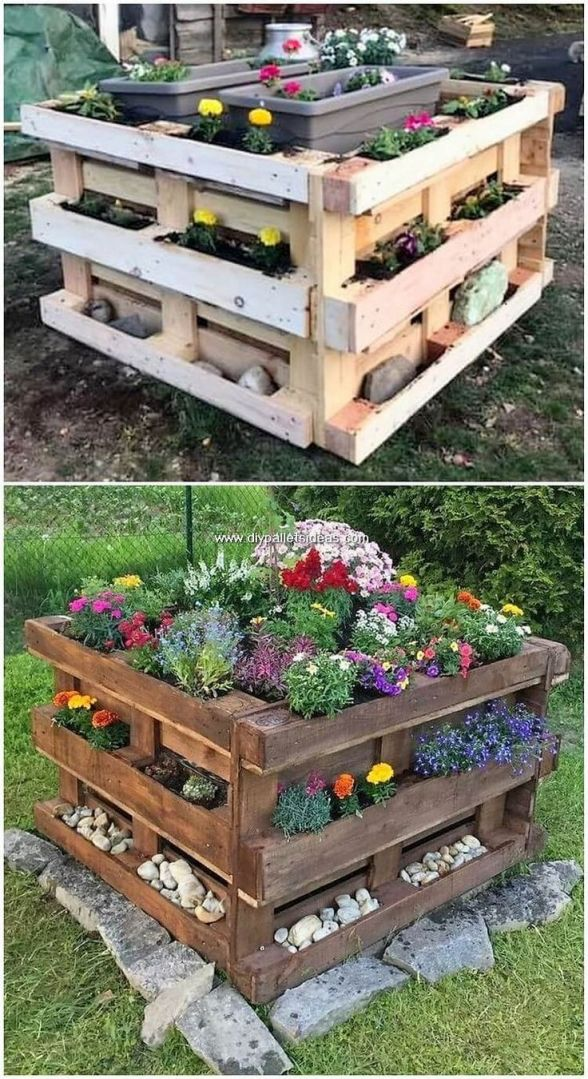 Wonderful Things To Do With Pallets In The Garden