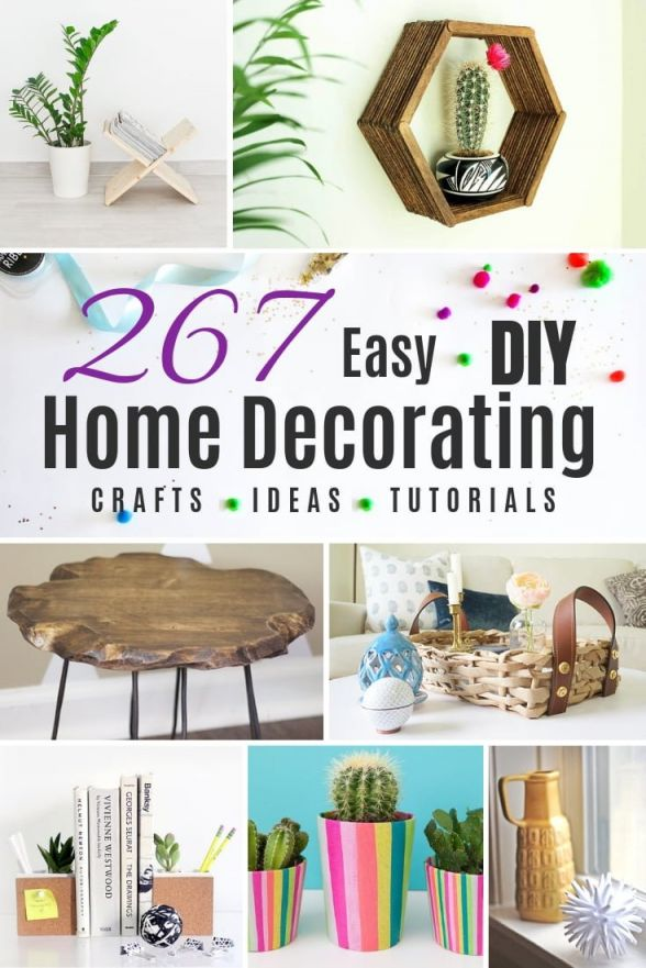 Fantastic cheap craft ideas for home decor