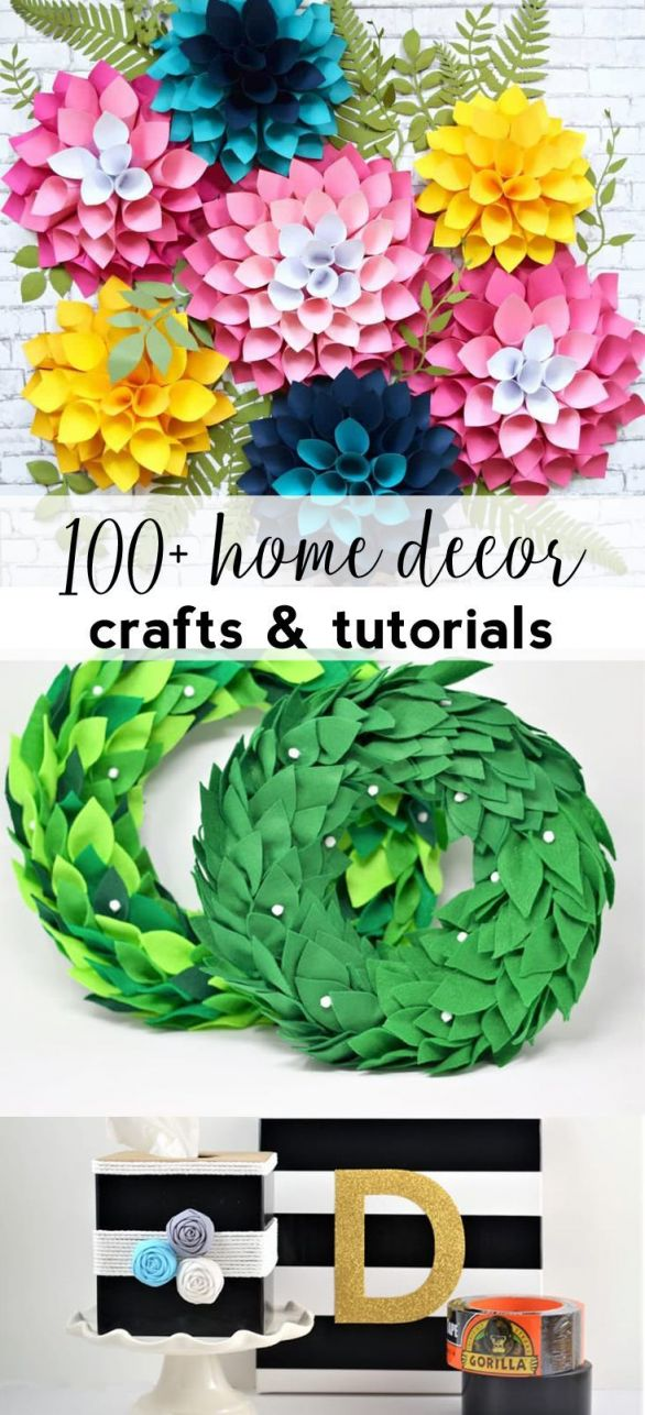 Cool art and craft ideas for home