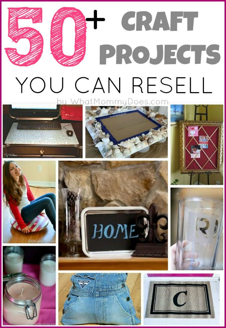 Adorable crafts to make and sell for profit