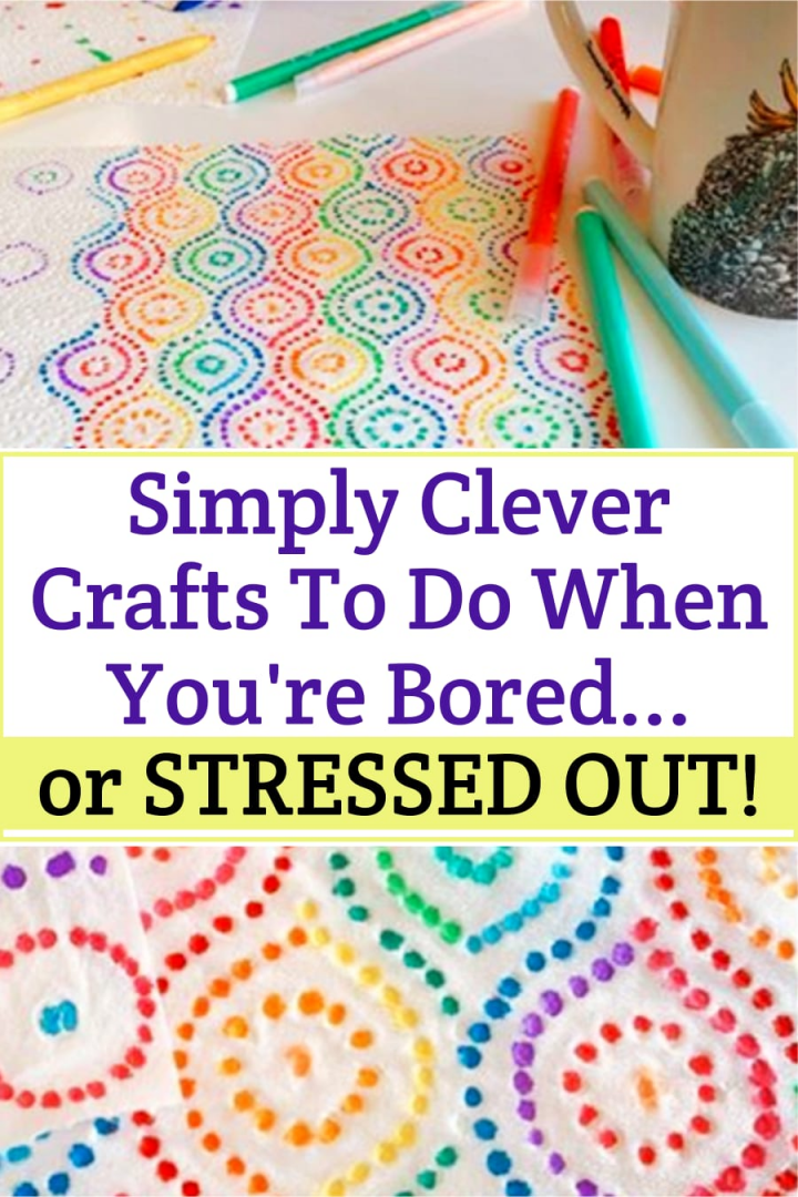 Beautiful fun crafts to do when your bored