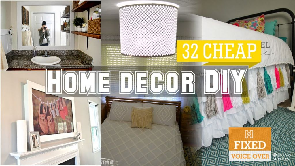 Best cheap diy projects for home decor