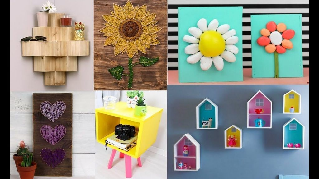 Adorable craft ideas for home decor
