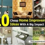 Best Cheap Diy Home Improvement Ideas