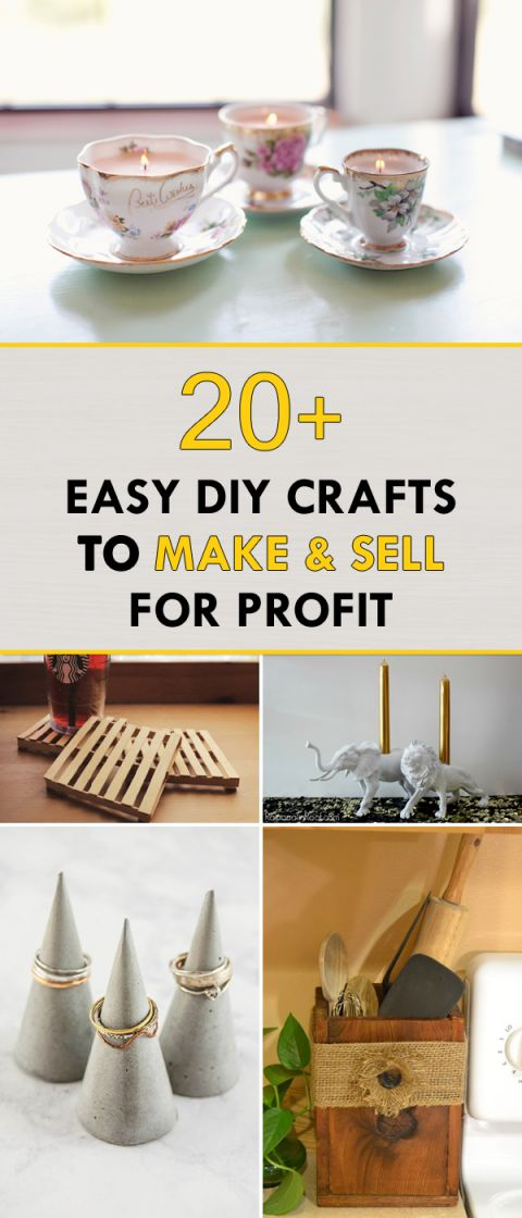 Wonderful crafts to make and sell for profit