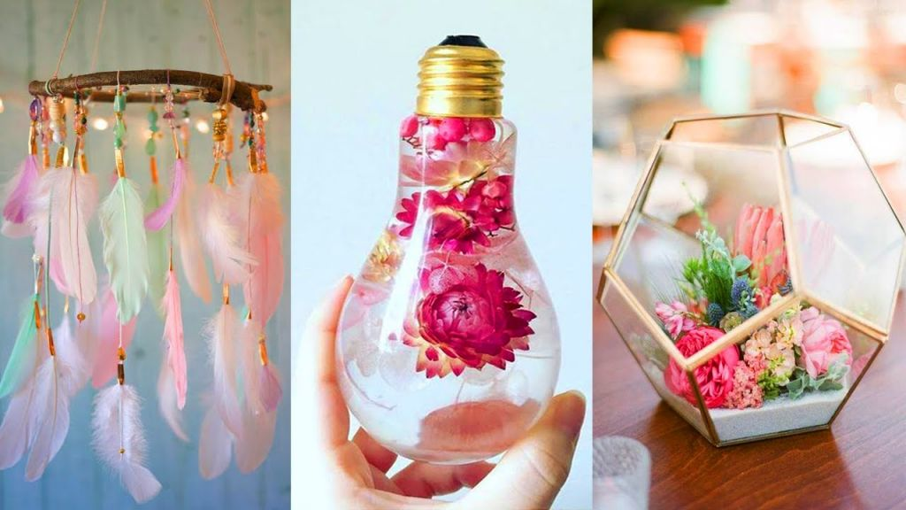 Wonderful crafts for house decorations