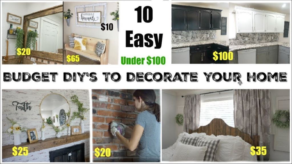 Beautiful diy home decor on a budget