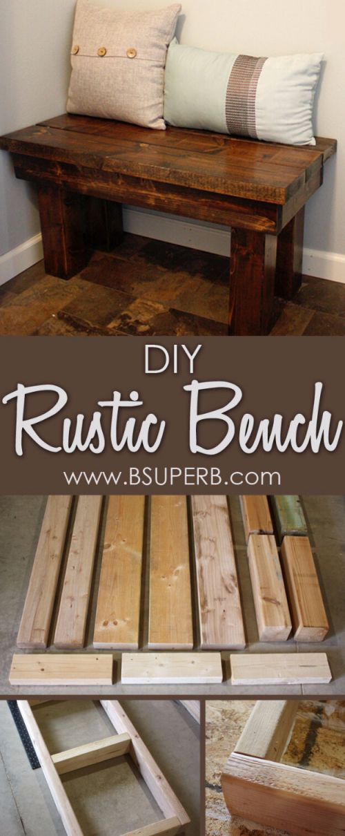 Beautiful Build Your Own Rustic Furniture