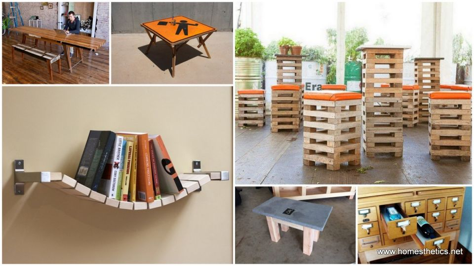 Cool Homemade Furniture Ideas